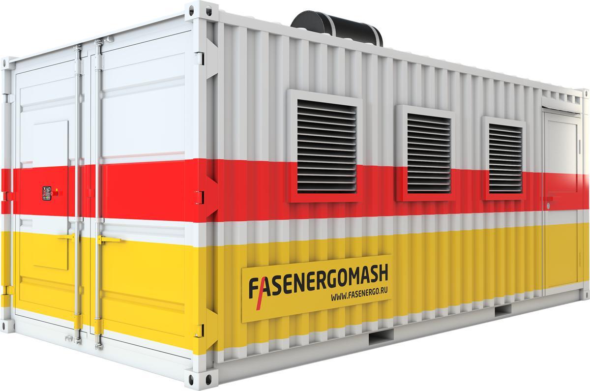 фото контейнеров для газопоршневых генераторов этой зимой